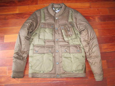 Mauth New Barbour X White Mountaineering Whinyama Quilt Jacket Mens Sz M