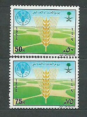 Saudi Arabia - Mail Yvert 725/6 Mnh Day of the power