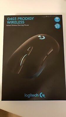 Logitech G403 Prodigy Wireless Wired Gaming Mouse Unopened