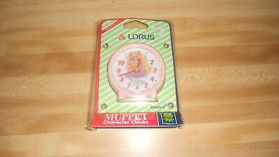 Lorus Miss Piggy Muppet Character Clock Sealed
