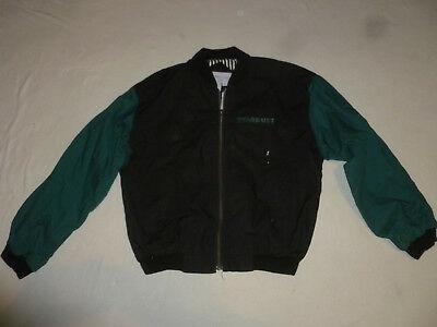 Vintage Norman Todd Stardust Resort & Casino Las Vegas Mens Jacket Black Teal L