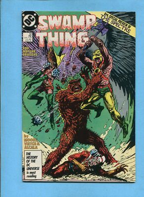 Swamp Thing #58 DC Comics March 1987 Alan Moore Veitch Alcala