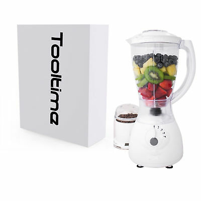 1.5L Powerful 550W Blender With Coffee / Spice Grinder - 4 Speed With Pulse