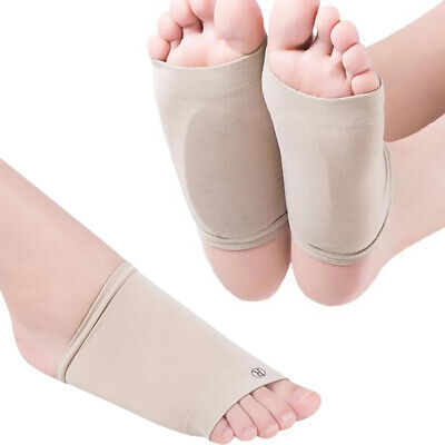 2 X GEL Plantar Fasciitis ARCH Support Cushion Foot Pain Heel Insole Orthotic