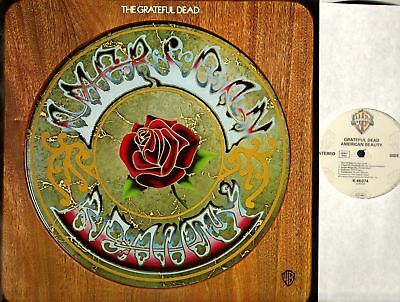 THE GRATEFUL DEAD american beauty (1980s reissue) LP EX+/EX 46 074 folk rock