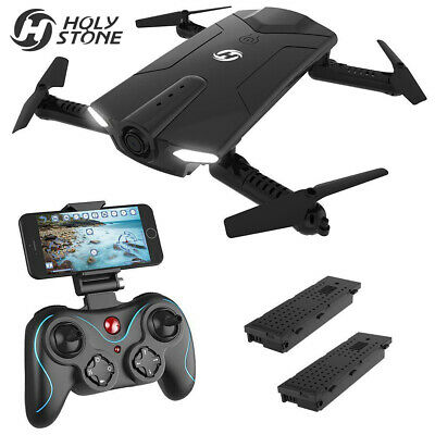 Holy Stone HS160D FPV RC Drone with Wifi HD Camera Pocket Quadcopter 2 Batteries