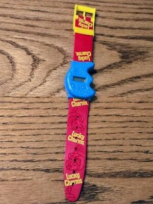 2001 general mills cereal premium Lucky Charms watch