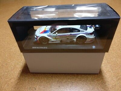 BMW M3 E92 Coupe DTM 2012 Tomczyk #1 1:18 Dealer Modell OVP
