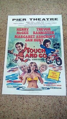 A3 Size Poster Print Touch And Go Pier Theatre Bournemouth 1982