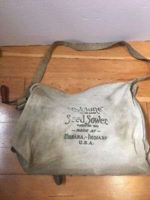 Antique Cyclone Seed Sower Indiana Farm Find Tool Agriculture