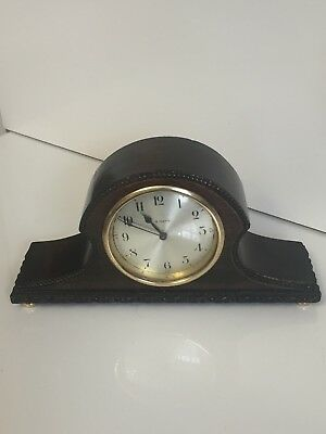 Antique Of 1910 French Mech Move 8 Day Mantel Clock