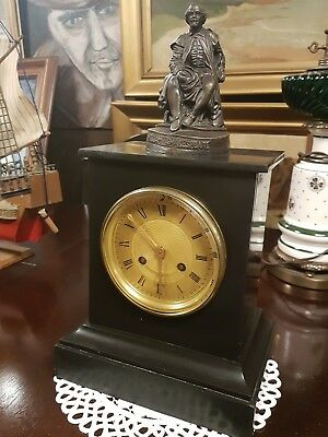 Antique French clock in good working condition