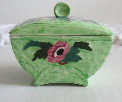 Maling Butter Dish ANEMONE EMBOSSED Pattern 6533. With damage.
