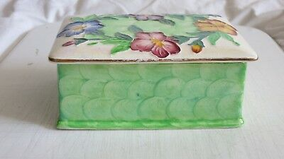Maling Butter Dish GODETIA Pattern 6551. In very good condition.