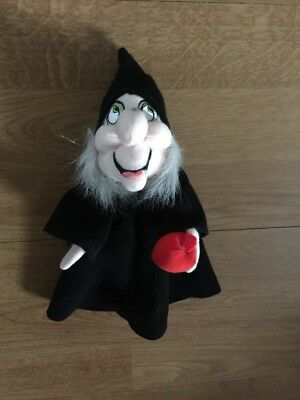 Disney Snow White Evil Witch Plush With Apple