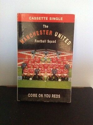 The Manchester United Football Squad - Come On You Reds Cassette Tape