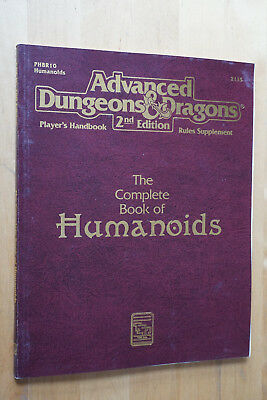 AD&D Advanced Dungeons & Dragons The Complete Book of Humanoids 2135