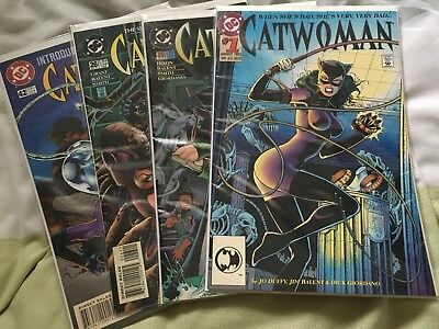 Catwoman #1,25,26,42 - 1993