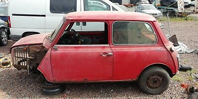 Classic Mini Mayfair Automatic / Solid / Project / Restoration / Barn Find