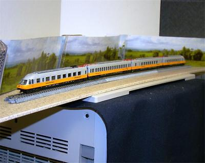Lufthansa Airport Express 4 Car Set Rare  N Scale Made In Italy