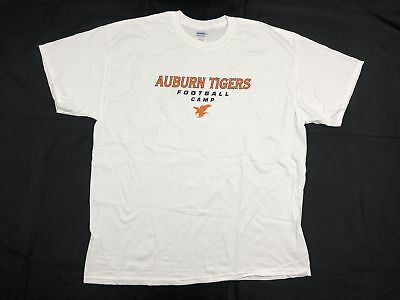 NEW Gildan Auburn Tigers - White Cotton Short Sleeve Shirt (Multiple Sizes)