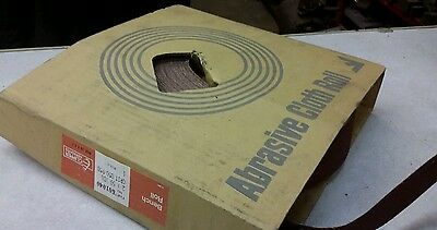 "2""x 50 YDS 50Grit Abrasive Cloth Roll Clipper Abrasives (QTY2)"