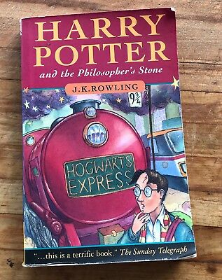 Harry Potter And The Philosopher's Stone J.K. Rowling 2000 Pg 53 Free Shipping