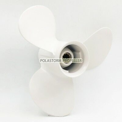 Aluminum Outboard Propeller 9-7/8X14Pitch for Yamaha 20-30HP 664-45952-00-EL