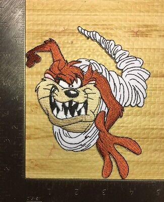 "Tasmanian devil Looney Tunes Taz Warner Brothers University Approx 3.5"" X 3.5"""