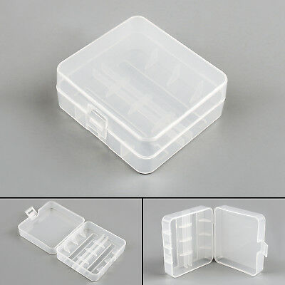 Battery Storage Case Box Holder For 2 Cell 26650 Battery Protection AU