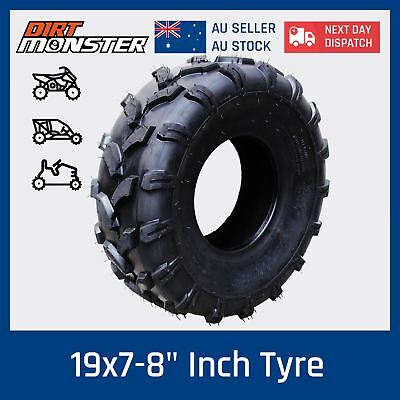 "19x7- 8"" inch Front Tubeless Tyre Tire for 125cc/150cc Quad Dirt Bike ATV Buggy"