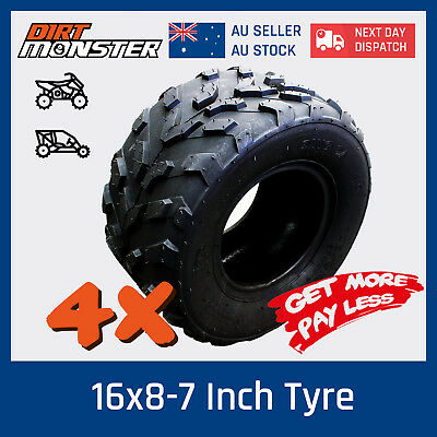 "4 x 145/70- 6"" inch Tyre Tire KIDS ATV Quad Mini monkey Bike Go Kart Dune Buggy"