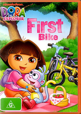 Dora the Explorer - First Bike - Used DVD 4 Episodes Great Entertainment