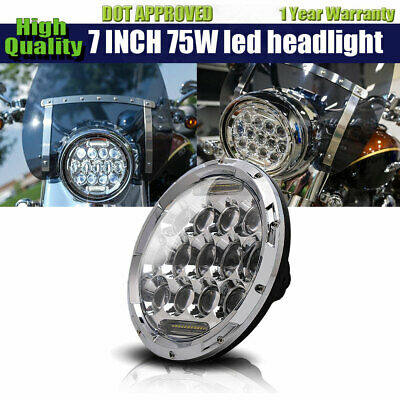 "DOT 5-3/4"" 5.75 LED Headlight DRL for Harley Sportster XL 883 1200 48"