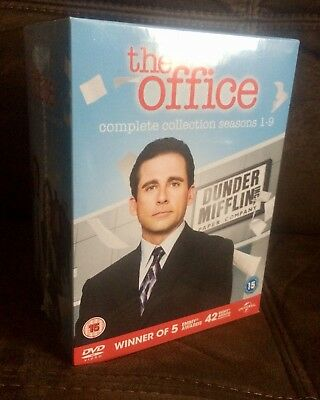 Sealed Dvd The Office Us Usa Series 1 9 Complete Box Set