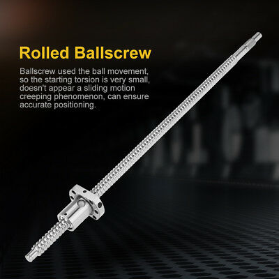 300-700mm Length SFU1204 Zero Backlash Ballscrew CNC Ball Screw Endmachined New