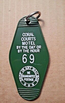 Route 66 St. Louis Coral Courts Famous *gone* Hourly Motel Key Ring Room #69