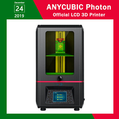 "CA SHIPS Anycubic Photon SLA 3D Printer UV Resin 2.8"" TFT Screen 2K Light-Cure"