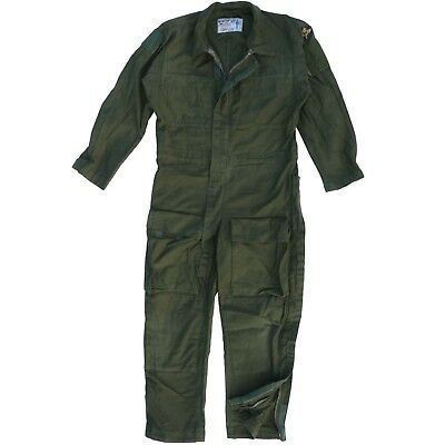 Swedish Military Flight Suit Flyer Boiler Coverall Genuine Army Air Force