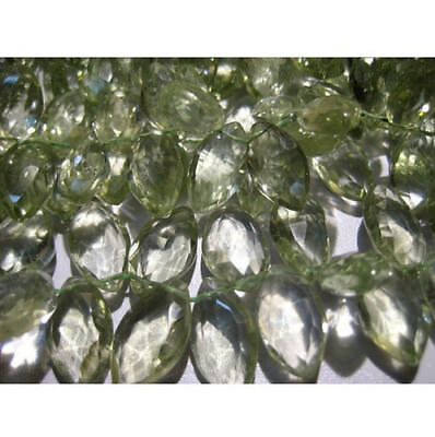 """4"""" Strand Wholesale Amethyst Gemstone Marquise Shape Faceted Amethyst Briolettes"""