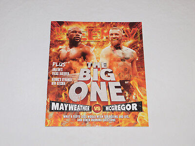 Las Vegas Weekly Magazine Floyd Mayweather vs Conor McGregor Boxing Aug'17 Issue