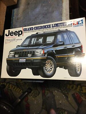 Jeep Grand Cherokee Tamiya 1 24 Model Car Kit