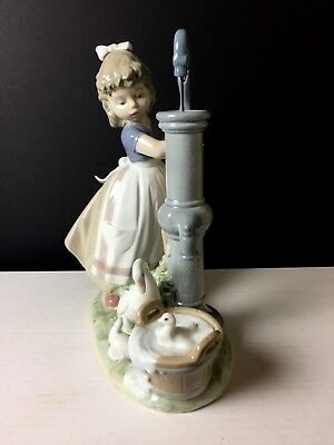Lladro Figurine Summer on the Farm #5285 1985-2007 Retired Excellent Condition!!