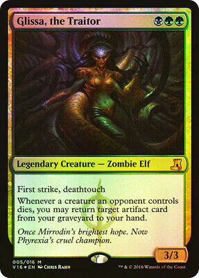 FOIL Glissa, the Traitor ~ From the Vault: Lore ~ NearMint ~ Magic The Gathering