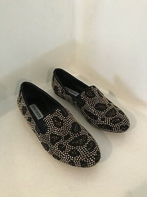 785ae6396f2 STEVE MADDEN CONNCORD SZ 7.5 Womens Beaded Flat Shoes Formal Ladies ...