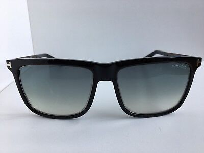 5ede9de5dce74 Tom Ford Karlie TF 392 TF392 02W 57mm Black Men s Sunglasses Italy T1