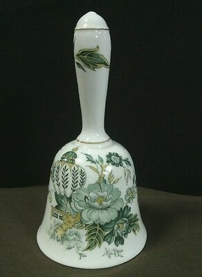 Vtg. Crown Staffordshire Fine Bone China Hand Painted Kowloon Bell,England