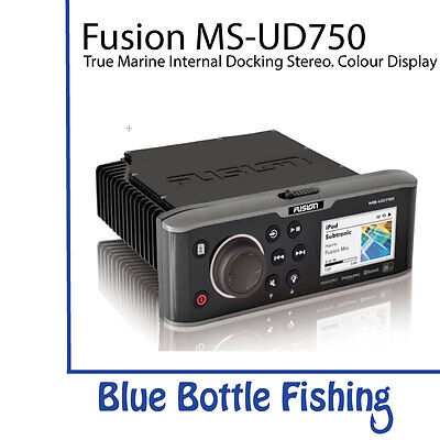 Fusion MS-UD750 Marine Entertainment System with Internal UNI-Dock
