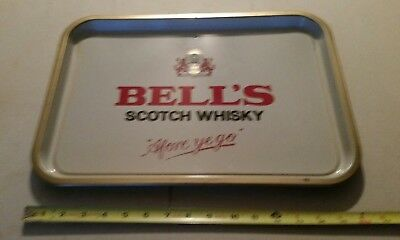 "Bell's Old Scotch Whisky 16"" Tray, ""Afore Ye Go"", Collectible"