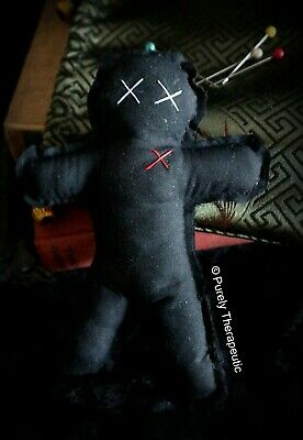 VOODOO DOLL Wicca Witchcraft Metaphysical Magic Ritual Spell Houdou Poppet Spell